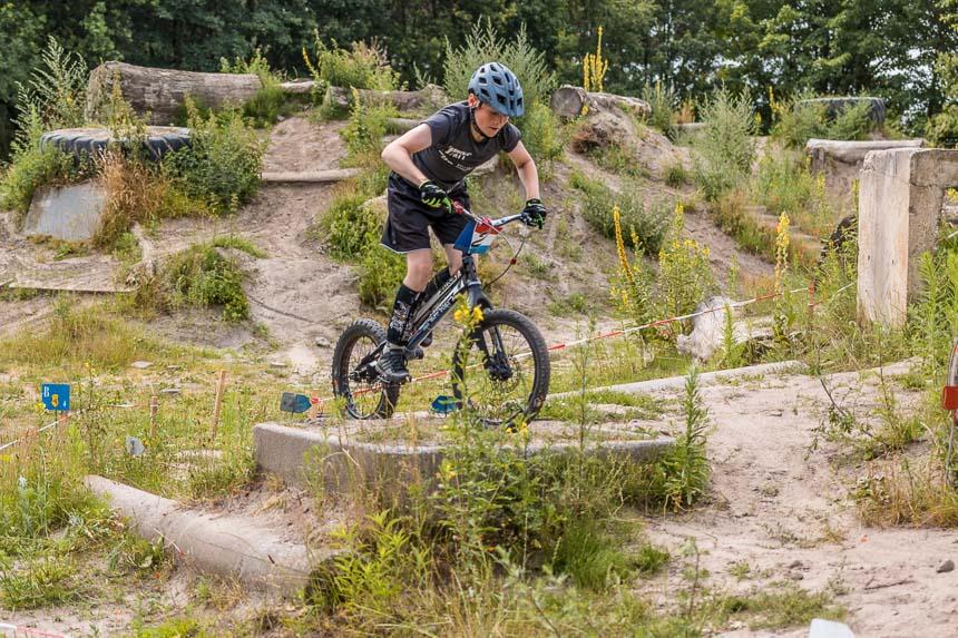 Jorke Erwig bei den Dutch Trial Series in Schijndel (NL)